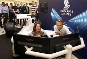 UK – Singapore Airlines brings the Grand Prix to Canary Wharf