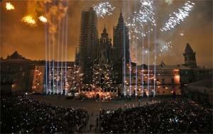 SPAIN – Acciona Producciones y Diseno creates the show for the Fires of the Apostle