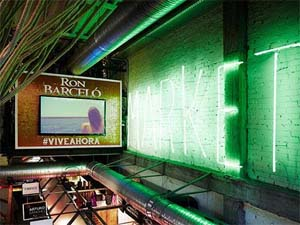 SPAIN – Ron Barceló personalizes with a Caribbean atmosphere the Mercado de San Ildefonso