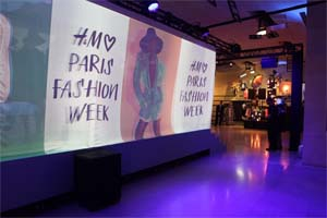 FRANCE – Magic Garden organizes the H&M Loves Paris Fashion Week