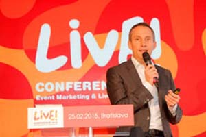GERMANY – Vok Dams Keynote at Live! Conference 2015 in Bratislava