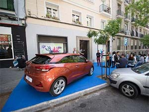 SPAIN – A popup gallery to close Hyundai's street art campaign