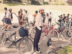 SPAIN – British style for a vintage bike ride