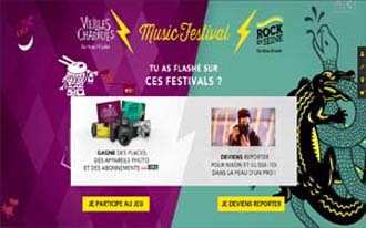 FRANCE – Nikon renews its trust in Magic Garden for Nikon Music Festival 2015
