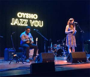 SPAIN – Oysho Jazz You: a very feminine event with a touch of jazz