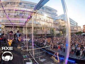 SPAIN – Axe celebrates European Music Day with a silent concert