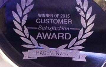 GERMANY – Hagen Invent awarded with Customer Satisfaction Award
