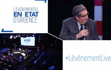 FRANCE- Special broadcasting of Lévénement's 'The events in a state of emergency'