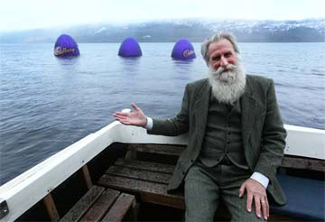 UK – Cadbury teases Loch Ness mystery in Easter Egg campaign