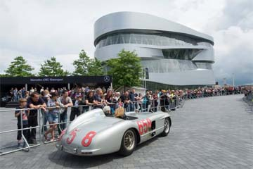 GERMANY – Vok Dams stages Anniversary of Mercedes-Benz Museum