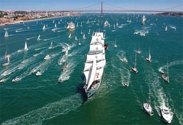 PORTUGAL – One million to watch tall ships