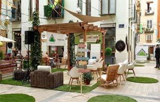 SPAIN – An urban garden for Leroy Merlin to present trends in terraces