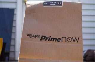 ITALY – Milan celebrates Christmas in advance with Amazon Prime Now