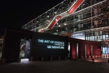 "FRANCE – Magic Garden creates ""The Art Of Essence"" for LG Electronics"
