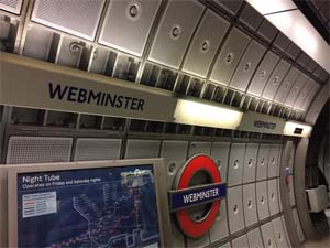 UK – Amazon takes over Westminster tube station