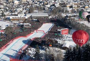 AUSTRIA – WWP turns the Hahnenkamm Race into the Super Bowl of skiing