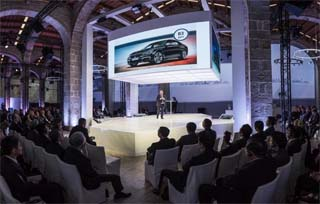 SPAIN – Technology and team work for the convention of BMW in Barcelona