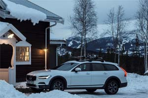 SWEDEN – Volvo opens new relaxation lodge in the Swedish mountains