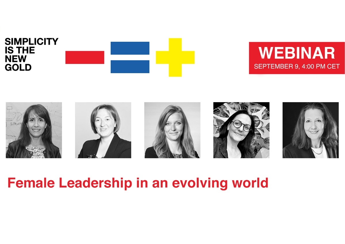 WEBINAR – Female leadership in an evolving world